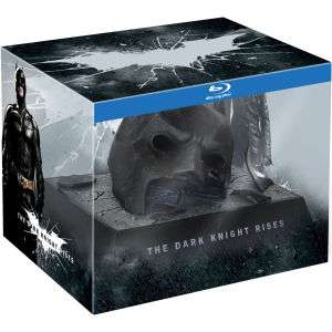 "Coffret collector Batman The Dark Knight Rises ""Bat Cowl"" Blu-ray"