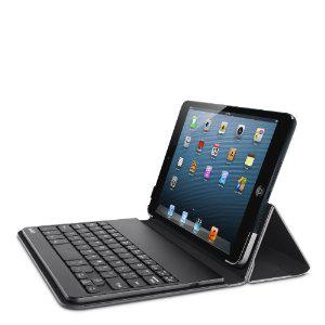 Belkin - Etui  avec clavier Bluetooth intégré pour iPad mini Noir AZERTY