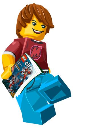 Abonnement gratuit de 2 ans au magazine Lego (garçon ou fille)