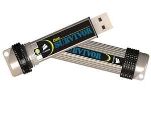 Clé USB 2.0 CORSAIR Flash Survivor 16Go USB 2.0 - reconditionné