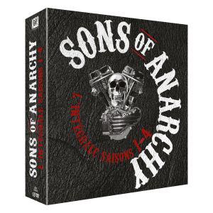 Coffret DVD Sons Of Anarchy : S1 à S4 Intégrale
