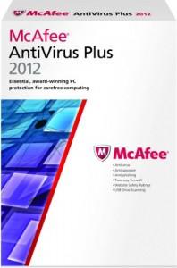 McAfee AntiVirus Plus 2012 - Gratuit pendant 6 mois