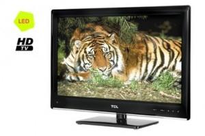 TV LED 24 pouces, HDTV 1080p + USB livrée gratos