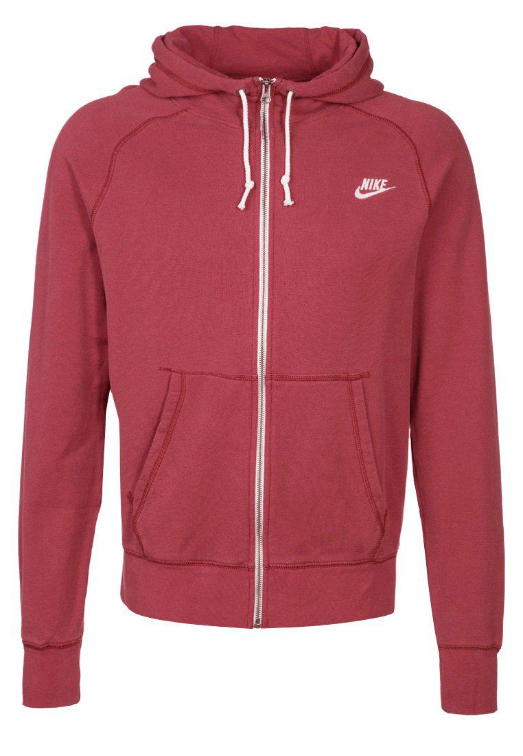 Sweat zippé Nike Run To Glory Rouge