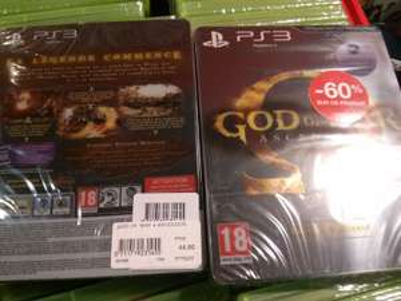 God Of War Ascension Edition Spéciale PS3