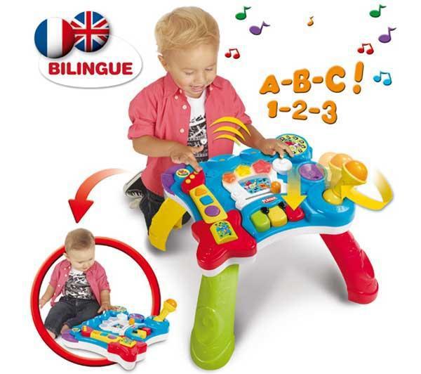 Table musicale bilingue rock - Playskool