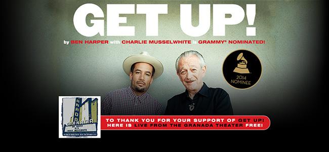 Ben Harper & Charlie Musselwhite - Live from the Granada Theater gratuit