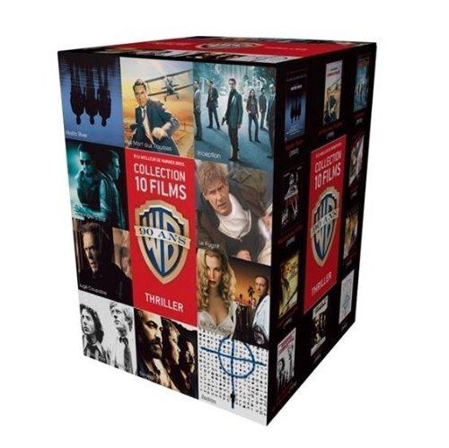 Coffret DVD 90 ans Warner 10 Films (3 Coffrets aux choix)+ 1 Magnet offert