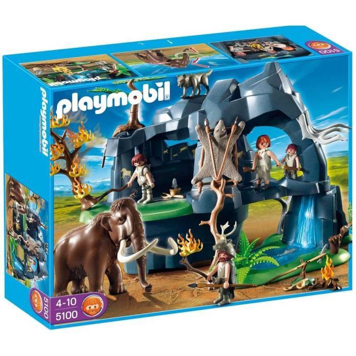 Grotte préhistorique avec mammouth Playmobil 5100