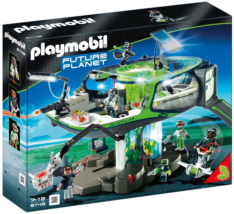 Base des ERangers Playmobil 5149