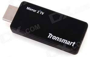 Dongle HDMI Mirror2TV Tronsmart T1000 Miracast, DLNA, AirPlay pour smartphone, tablette...