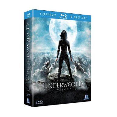 Underworld : L'intégrale - Coffret 4 Blu-ray