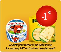 Vache Qui Rit 535g + Leerdammer 500g
