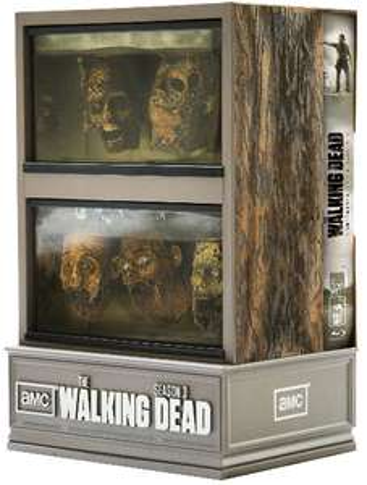 Coffret 5 Blu-ray The Walking Dead Saison 3 - Edition Collector Limitée Aquarium