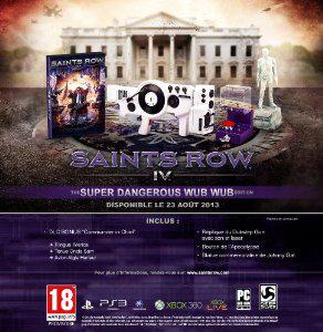 Saints Row 4 - Edition Collector Super Dangerous Wub Wub sur PS3