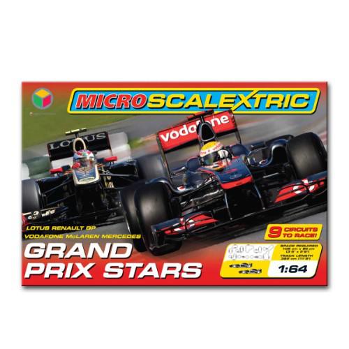 Coffret Circuit électrique Scalextric : Grand prix Stars