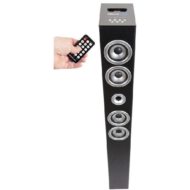 Barre de son verticale station ipod/iphone