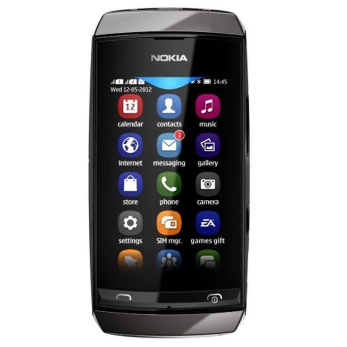 Téléphone Nokia Asha 305 Gris foncé