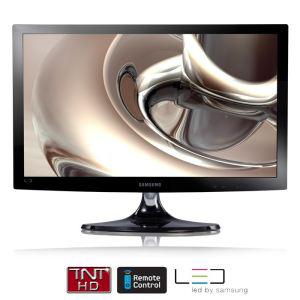 "Moniteur LED 21.5"" Samsung T22C300EW avec Tuner TNT HD"