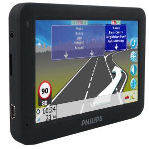 GPS Philips PNS410 Europe Bluetooth mise à jour cartographique grauite à vie