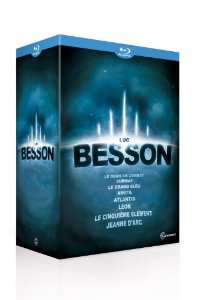 Coffret Blu-ray – Luc Besson – 8 films