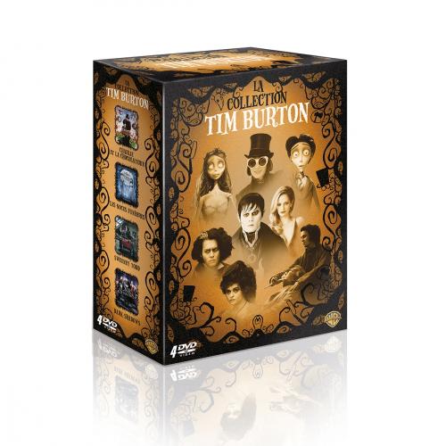 Coffret 4 DVD Tim Burton