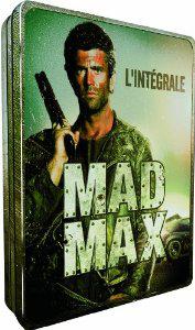 Coffret DVD Intégral Mad Max - Steelbook