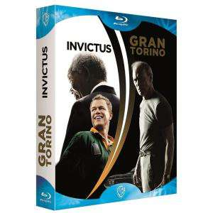 Coffret Blu-Ray Clint Eastwood : Invictus + Gran Torino