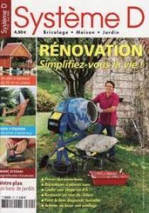 1 numéro du magazine systeme D gratuit