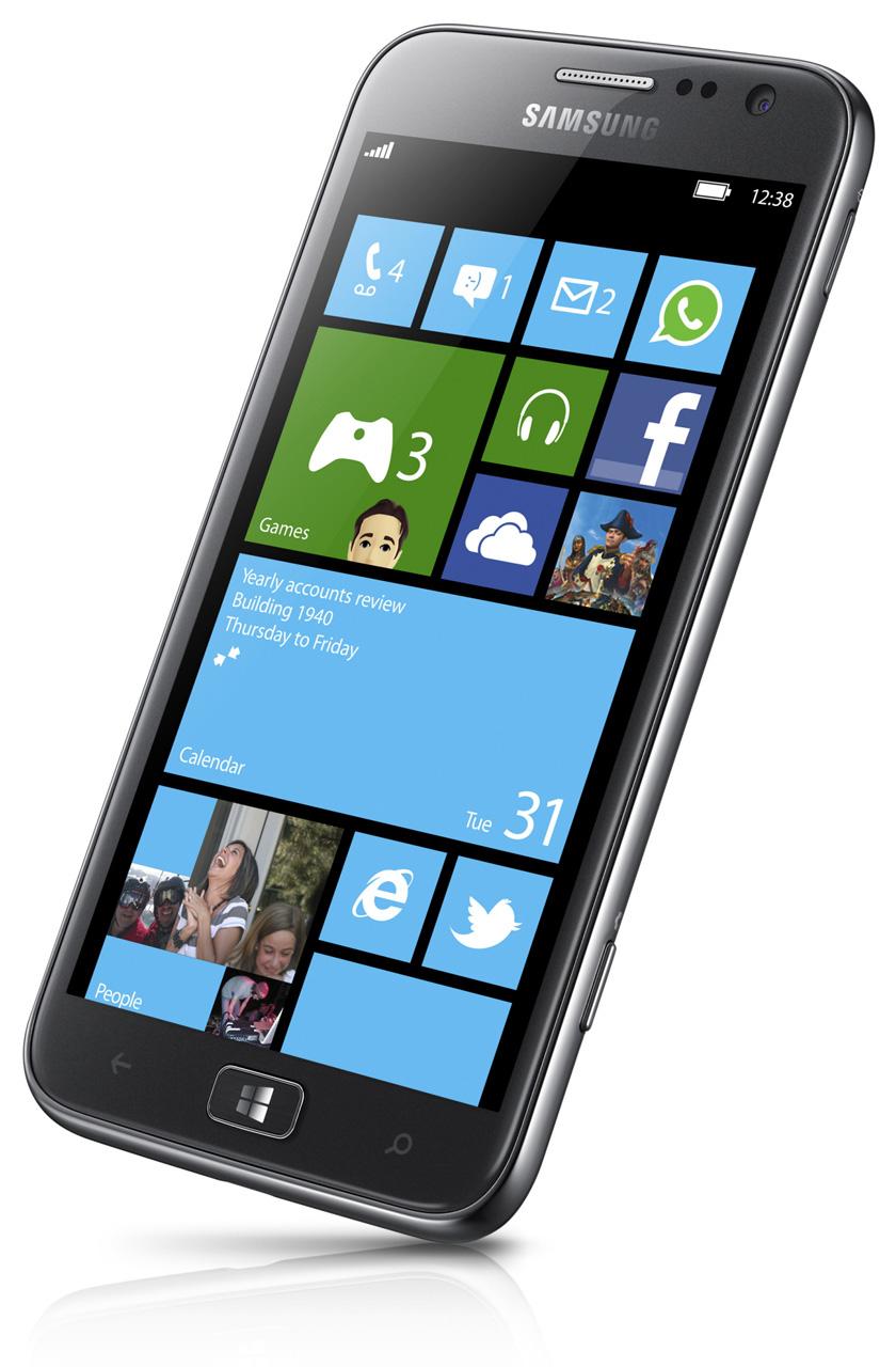 Smartphone Samsung ATIV S (avec carte prépayée)