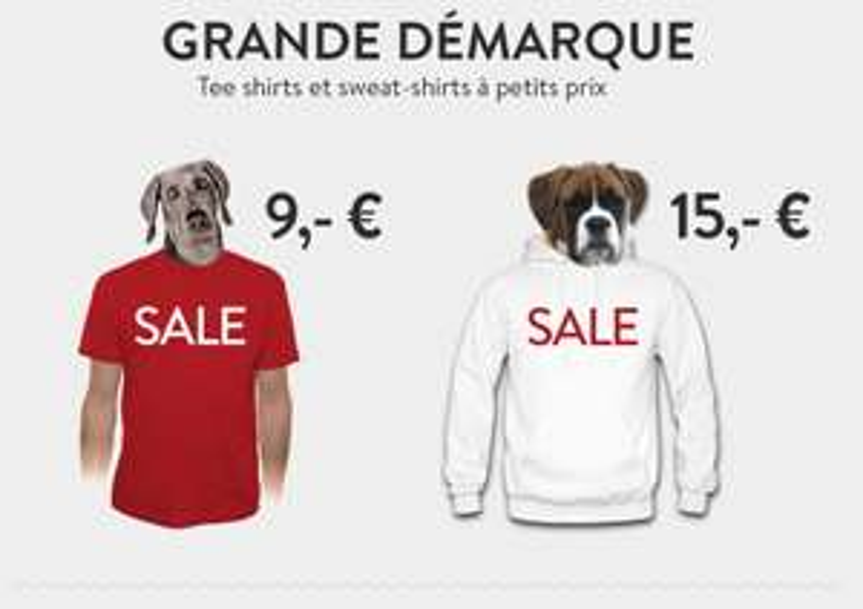 Soldes : Sélection de Sweat-shirts à 15€ et Tee-shirts
