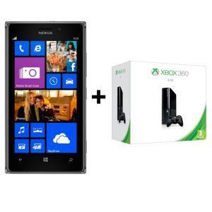 Smartphone Nokia Lumia 925 Gris + Xbox 360 4 Go