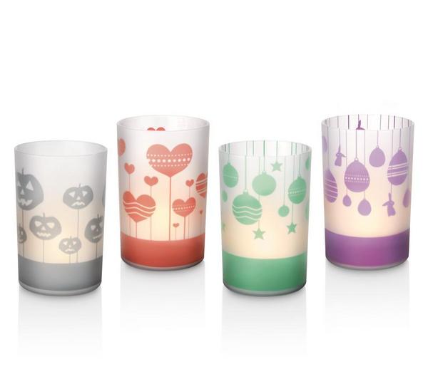 Set de 2 bougies artificielles Philips Candlelights 7007555PH