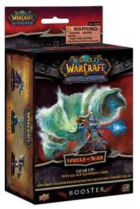 Figurines World of Warcraft : Booster Spoils of War
