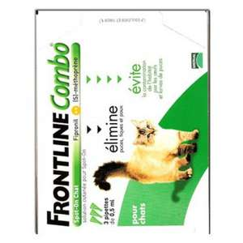 Frontline combo pour chat 3 dosettes