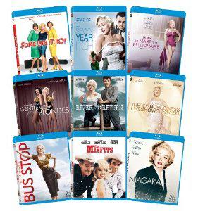 Coffret Blu-ray Marilyn Monroe : Classic 9 Film Collection