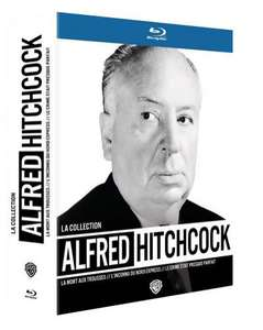 Coffret Blu-ray La Collection Alfred Hitchcock (3 Films)