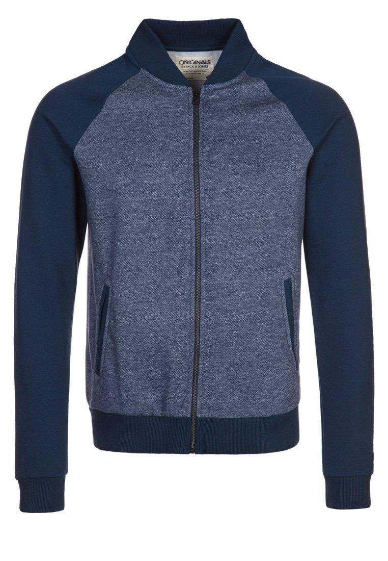 Sweat zippé Jack & Jones Darcy Bleu (Taille S à XXL)
