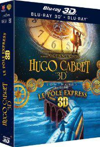 Coffret Blu-ray 3D – Hugo Cabret + Le Pôle Express –