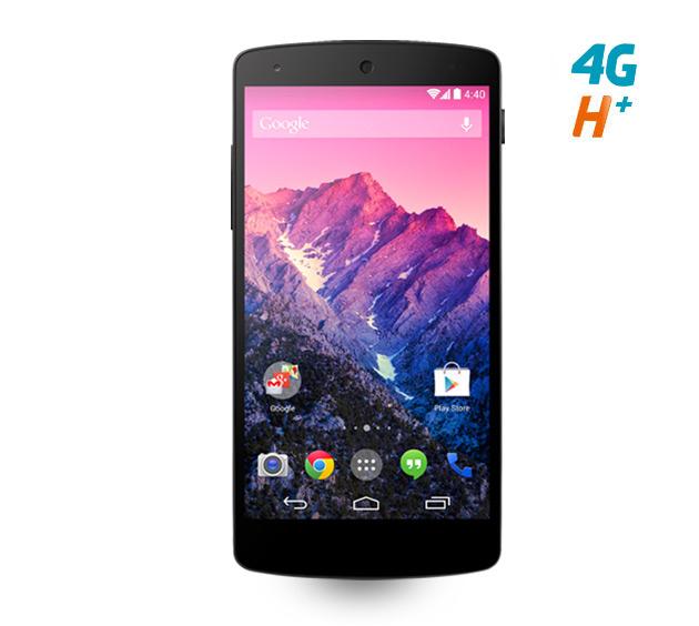 Smartphone Nexus 5 - 16Go (avec forfait à 30€ et engagement 24 mois et ODR 50€)