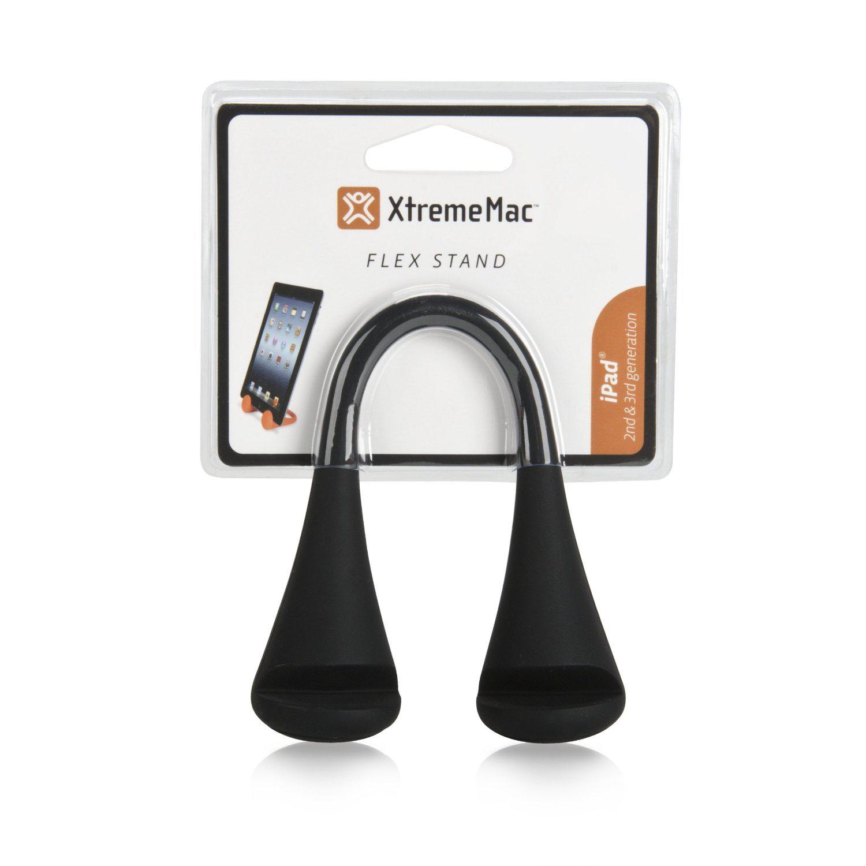 Support flexible Xtrememac pour tablette / iPad2 & Nouvel iPad Noir