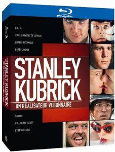 Coffret Blu-ray Kubrick réalisateur visionnaire (8 Films)