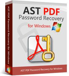 Logiciel AST PDF Password Recovery gratuit sur PC