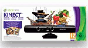 Kinect + jeux Kinect Adventures, Fruit Ninja et The Gunstringer pour Xbox 360