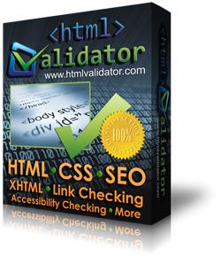 Logiciel de programmation CSE HTML Validator Standard