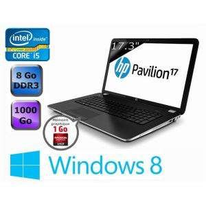 "Ordinateur portable 17.3"" HP Pavilion 17-E095SF -  i5-3230M, 1 To, 8 Go RAM, HD 8670M (avec ODR 50€)"