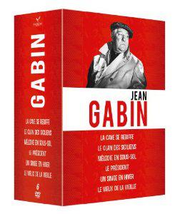Jean Gabin - Coffret DVD 6 films