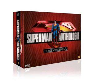 Coffret DVD Superman Anthologie - 7 longs métrages animés + Livre 320 pages