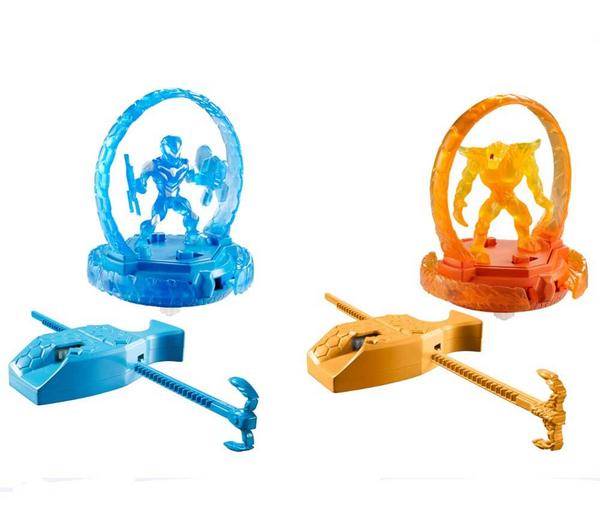 Lot de 2 Turbo Battlers Mattel Max Steel