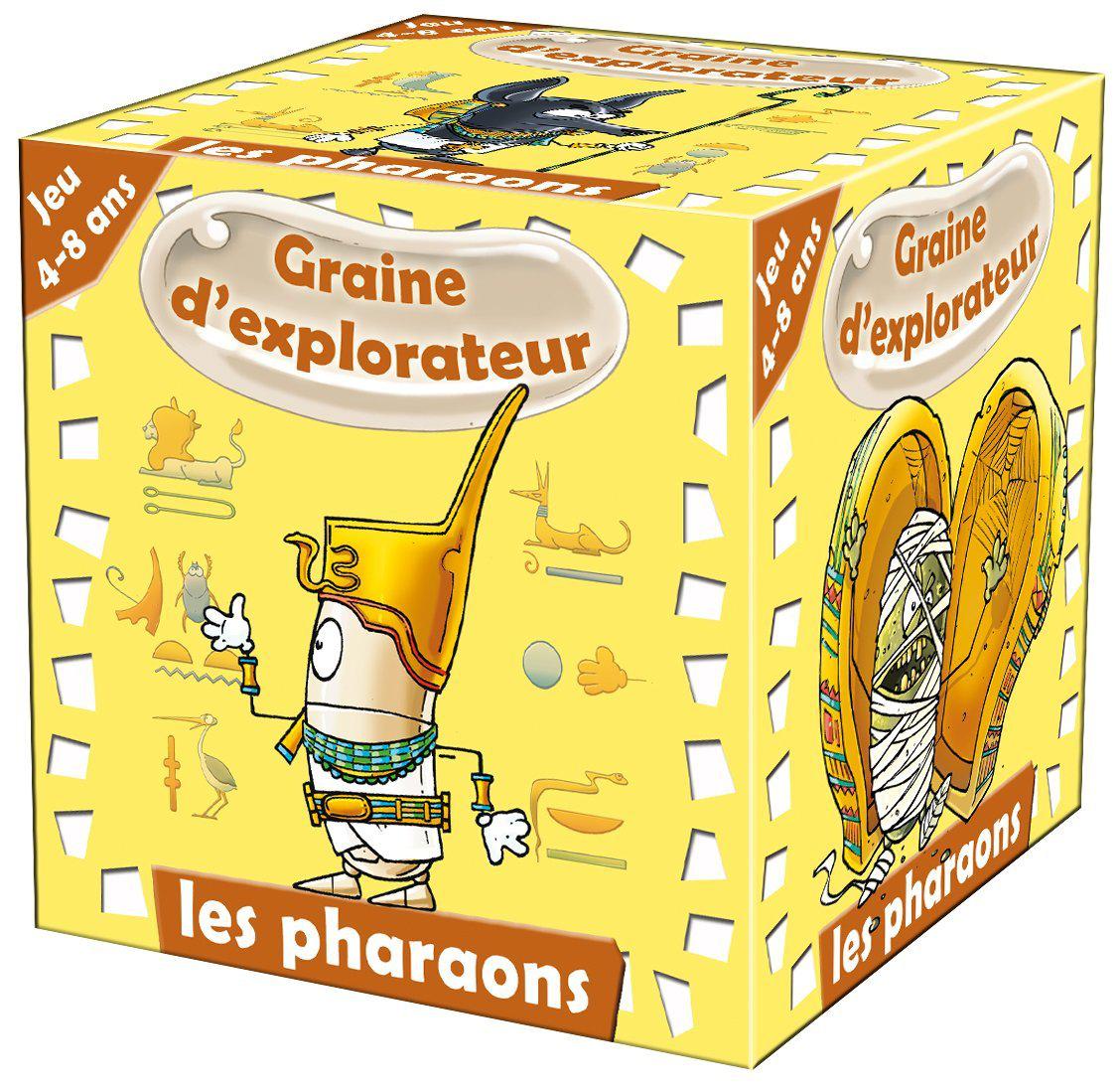 Jeu Graine d'explorateur Les pharaons (Autres references voir description)